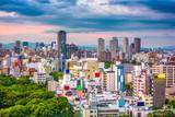 Osaka, Japan Cityscape over Tennoji Ward. - 192607992