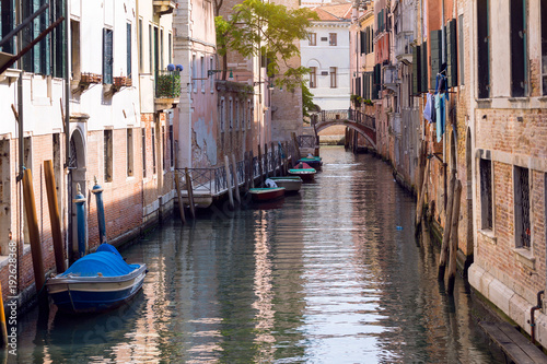Fototapeta streets and canals of Venice