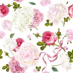 Romantic garden pattern © purplebird