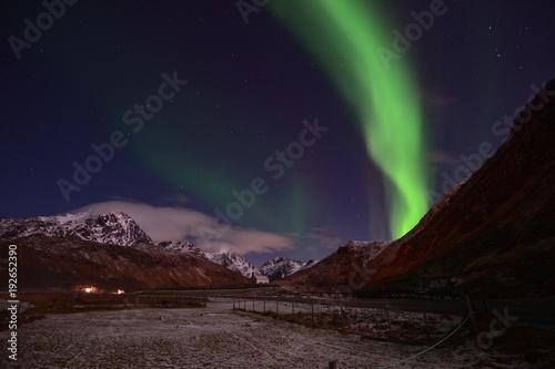 Plexiglas Noorderlicht Aurora Borealis