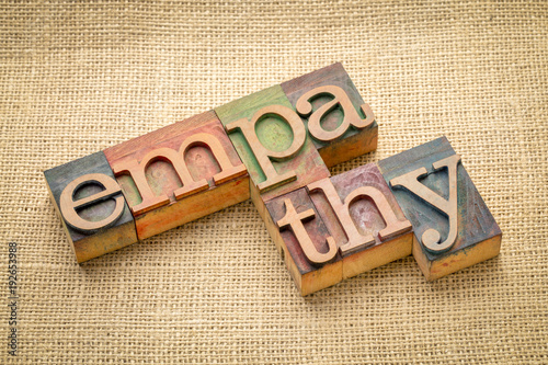 empathy-word-abstract-in-wood-type