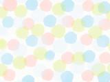背景素材 水玉5