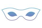 carnival mask celebration icon vector illustration design - 192689334