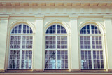 Three Old Windows Of Palace In Warsaw - 192700998