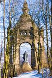 Kaiser-Wilhelm Denkmal im Winter - 192719702