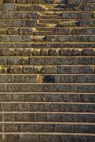 Poster Egypte OSTIA ANTICA RUINS: AMPHITHEATER STEPS DETAILS