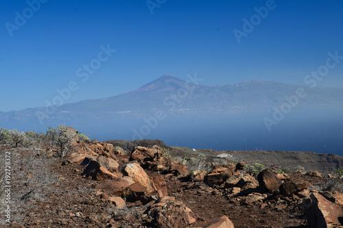 Papiers peints Marron chocolat La Gomera: hike from Playa de Santiago to San Sebastian