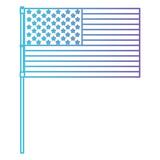 usa flag patriotic icon vector illustration design - 192729743