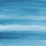 blue watercolor texture background, striped, hand painted vector illustration - 192736709