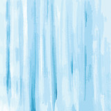 blue watercolor texture background, striped, hand painted vector illustration - 192746152