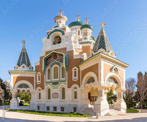 Foto op Aluminium Nice Orthodoxy church Nice France