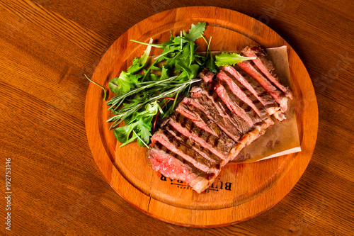 Papiers peints Steakhouse Blood Beef steak