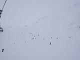 ski lift slope many people - 192762543