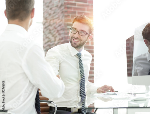 handshake business partners after the deal