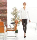 businesswoman talking at modern office - 192770111