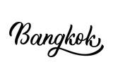 Bangkok hand lettering - 192784195