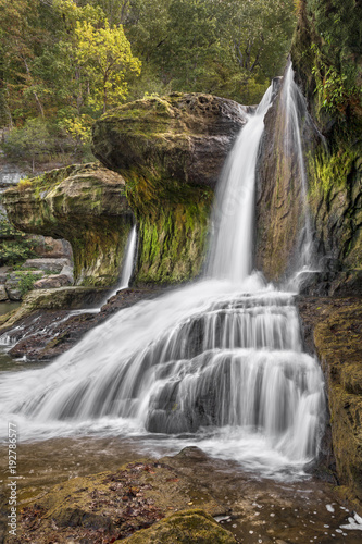 Low Flow Upper Cataract - Cataract Falls in Indiana - 192786577