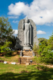 Buddha statues in the temple of Sri Lanka - 192804917