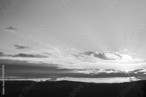 Foto Murales sun goes down