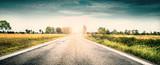 strada di campagna all'alba - 192812198