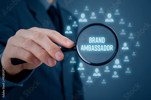 Brand ambassador concept
