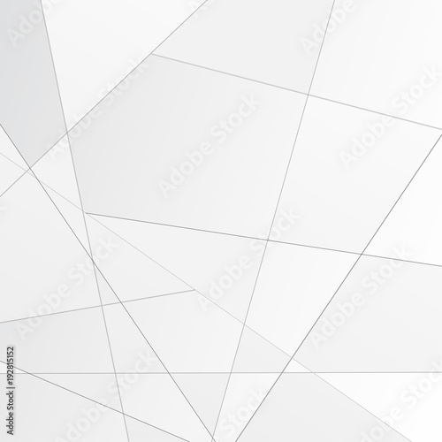 Grey abstract polygonal modular background