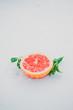 Fresh grapefruit under a rain - 192824125