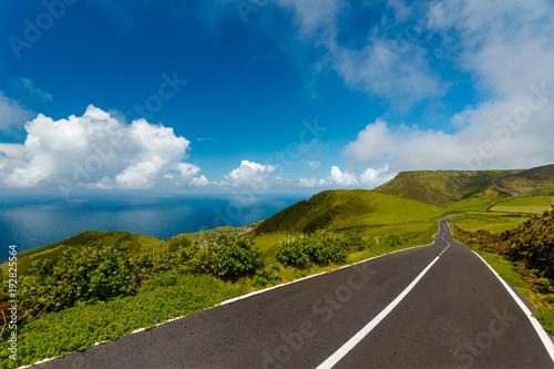 Foto op Canvas Natuur Beautiful road