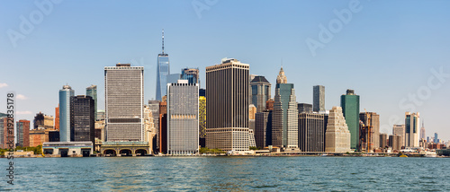 Lower Manhattan Skyline, NYC, USA - 192835178
