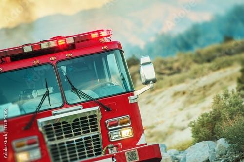 Operacja ratunkowa straży pożarnej