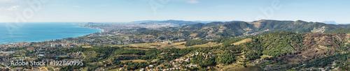 Papiers peints Barcelona Barcelona skyline and coast