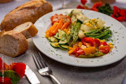 Sticker Gemüse gesundes essen