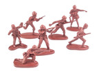 Figures Of Soldiers  Weapons In Battle    Wall Sticker