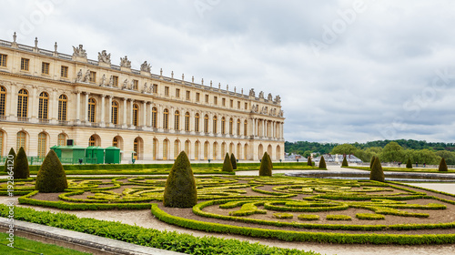 Staande foto Parijs Versailles Palace and park near Paris