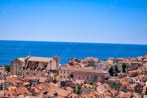 Aluminium Zalm Dubrovnik Landschaft