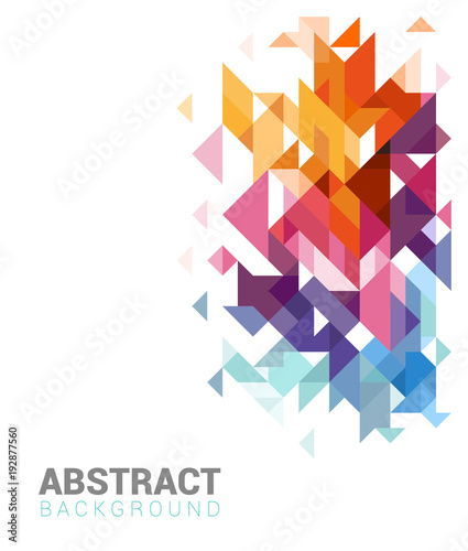 Abstract Background - Brochure Template - 192877560
