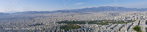 Foto op Plexiglas Panoramafoto s view of Athens from above