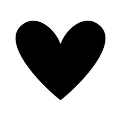 love heart romance passion feeling vector illustration black and white image