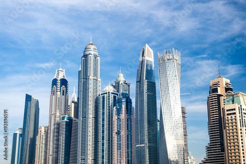 Urban landscape in Dubai, United Arab Emirates