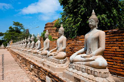 Staande foto Boeddha Architecture of Ayutthaya period