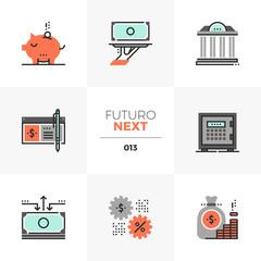 Banking Services Futuro Next Icons
