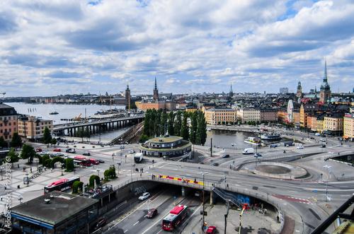 Aluminium Stockholm View of Stockholm, Sweden.
