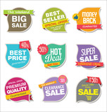 Modern stickers and tags collection - 192942129