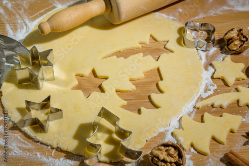 Plexiglas Koekjes cookies for christmas