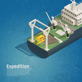 Diving Equipment On-Board Isometric - 192950317