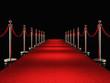 Quadro red carpet 3d