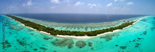 Maldives aerial view panorama landscape - 192952756