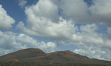 Lanzarote volcanic landscape, Canary Islands, Spain