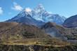 Quadro Ama Dablan mountain views