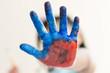 mão pintar colorido divertimento educação infância  brincadeira